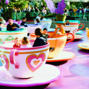 mad hatters tea party ride