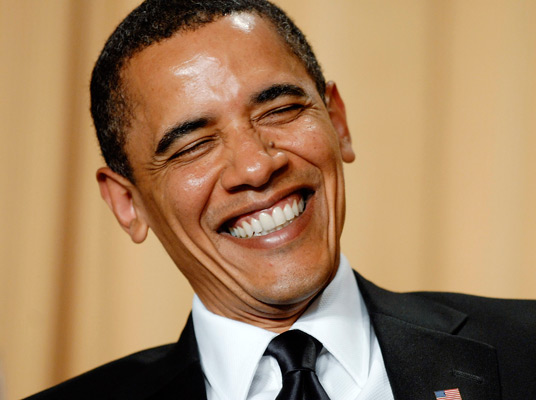 obama laughing While I knew this Teen Center was in the design plan, what I did not know ...