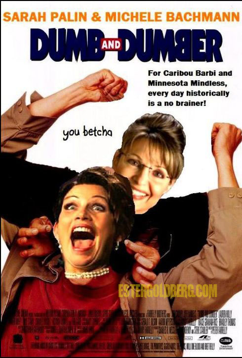 dumb and dumber palin