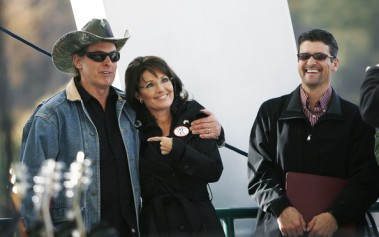 Image result for palin ted nugent