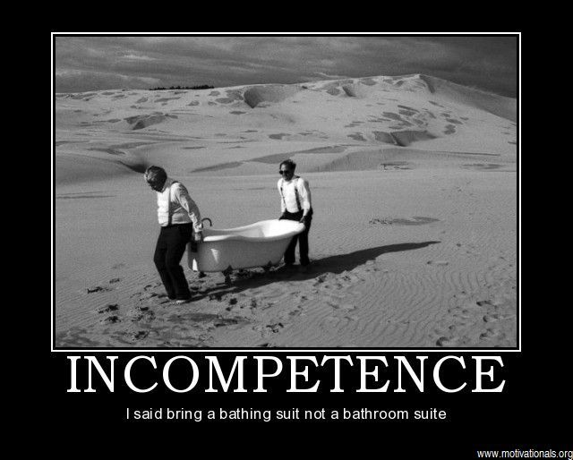 incompetence one