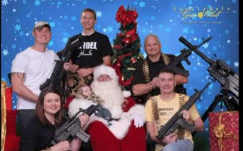 santa assault weapons gun club two