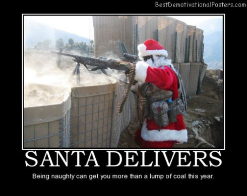 santa poster more than coal