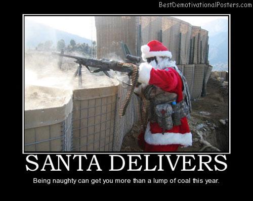 santa poster more than coal