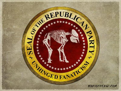 Republican_Seal skeleton of elephant