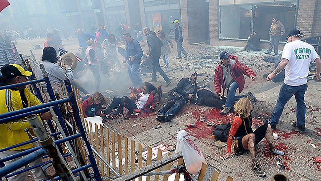 "The bombings in Boston yesterday were ""the worst attack on U.S. soil"