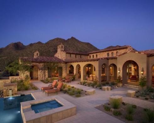palin arizona home and pool
