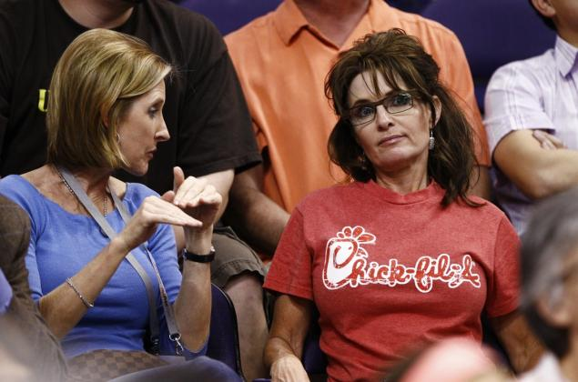 Sarah Palin Fools Herself on April Fools Day