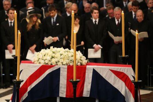 thatcher casket