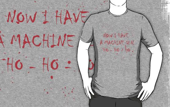 machine gun t-shirt