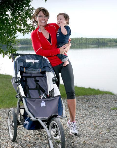 palin baby jogger