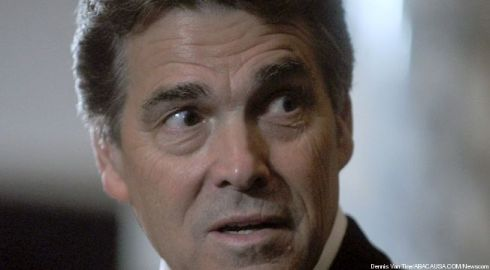 rick perry scared