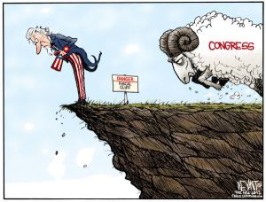 fiscal cliff congress ram