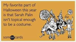 palin halloween costume
