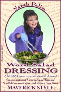 palin word salad one