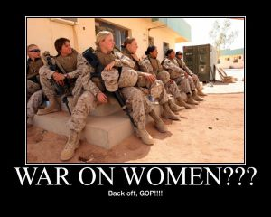 war on women soldiers