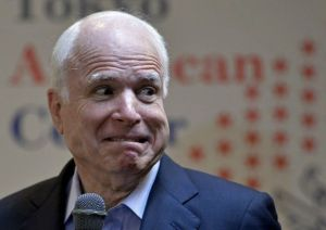 mccain crazy old man