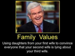 newt family values