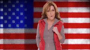 palin amazing america fist