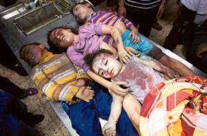 dead children gaza