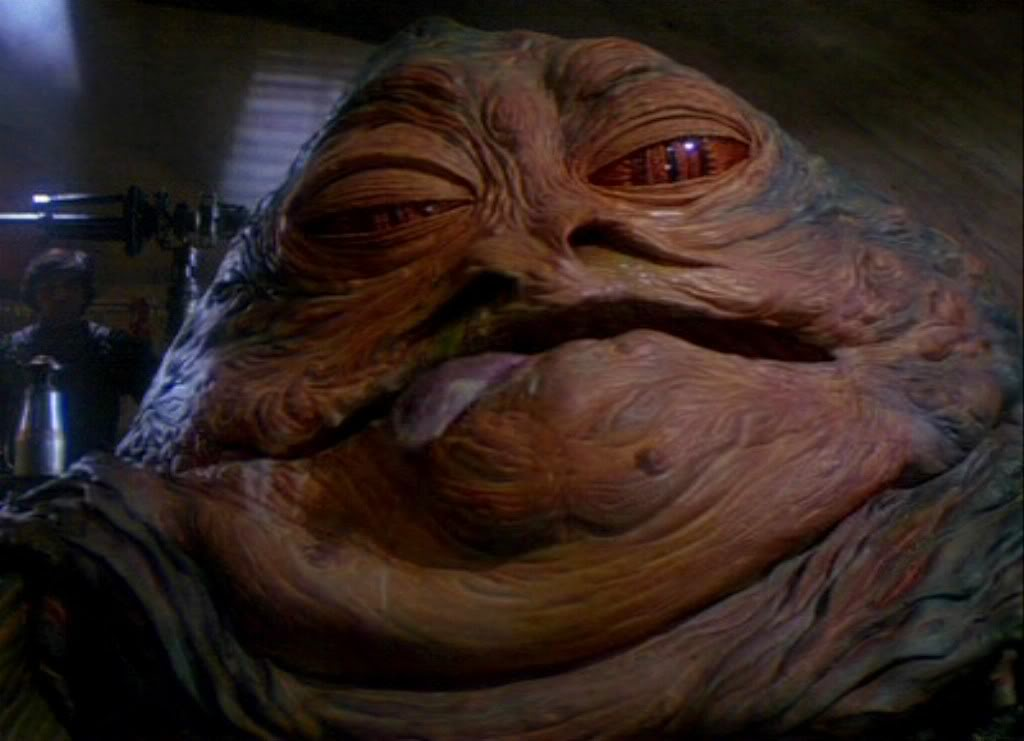Sarah Palin and Jabba the Hutt Have Much in Common ... Jabba The Hutt And Leia