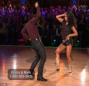 bristol dancing cowboy