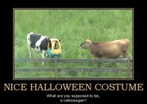 funny halloween costume seven cows