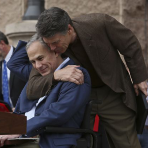 perry hugging abbott