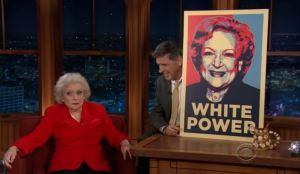 betty white white power