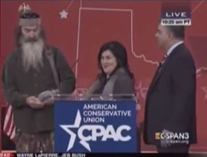 duck dynasty at cpac