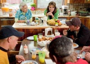 palin family table