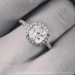 bristol's ring close up