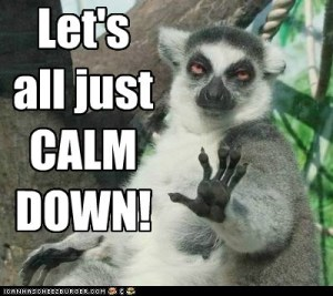 calm down three sloth