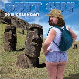 butt guy 2015 calendar