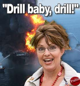 palin drill baby drill