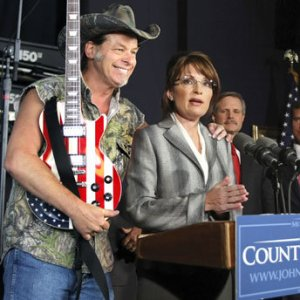 ted nugent palin
