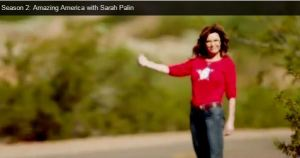 palin amazing america thumbs up