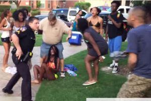 mckinney cop pulls gun