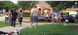mckinney cops far from young black girl