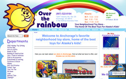 over the rainbow toy store