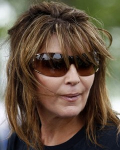 palin motorcycle bad hair day