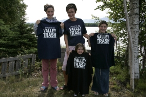 palin valley trash family