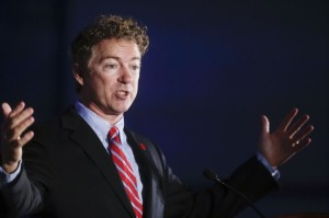 rand paul curly headed