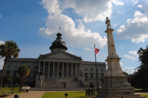 south carolina capital confederate flag