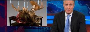 jon stewart moose menorah