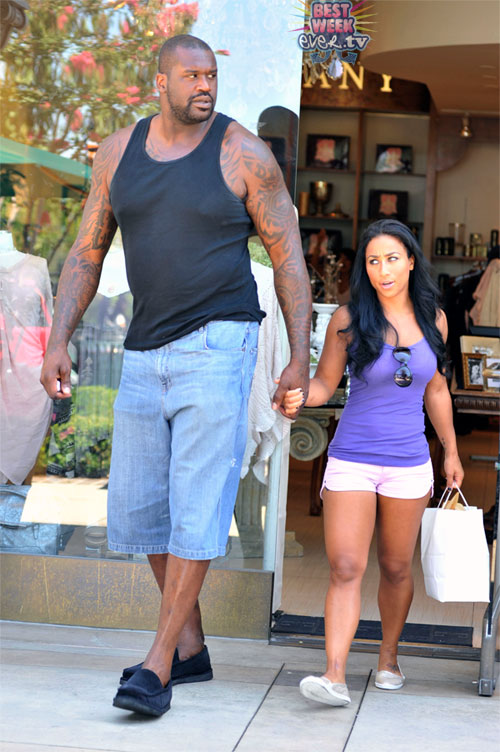 how tall is shaq new