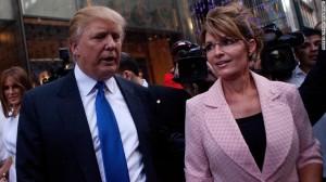 palin and trump