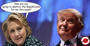 trump clinton destroy republicans
