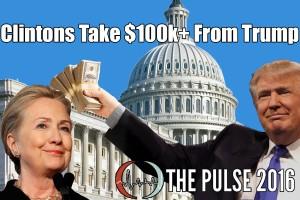 trump clinton foundation