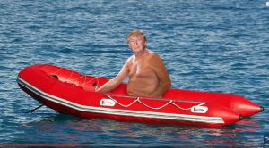 trump-shirtlessin-boat